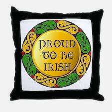 Proud to be Irish Throw Pillow