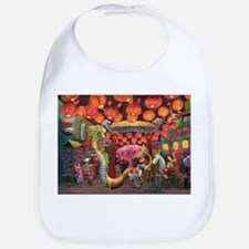Animals of China Town Bib