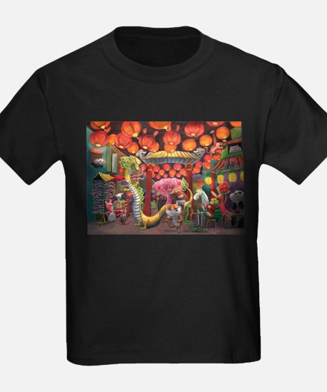 Animals of China Town T-Shirt