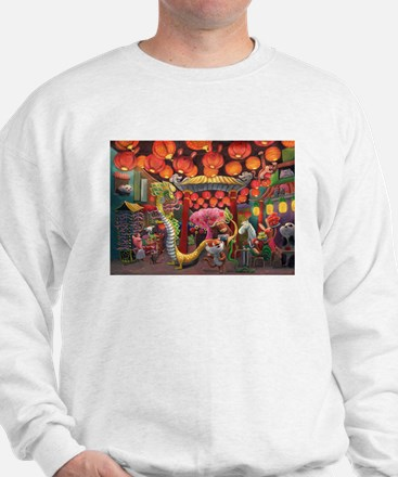 Animals of China Town Sweatshirt