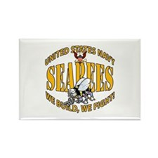 USN Seabees Bee Eagle 2 Magnets