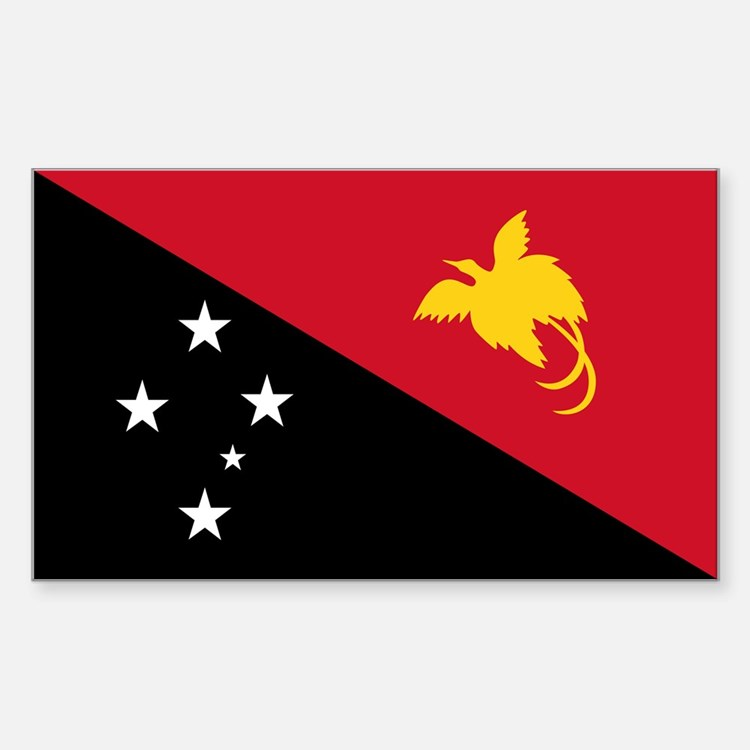 PNG Flag Sticker (Rectangle)