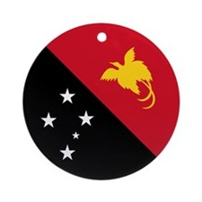 PNG Flag Ornament (Round)