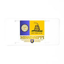 DTOM Mississippi Aluminum License Plate