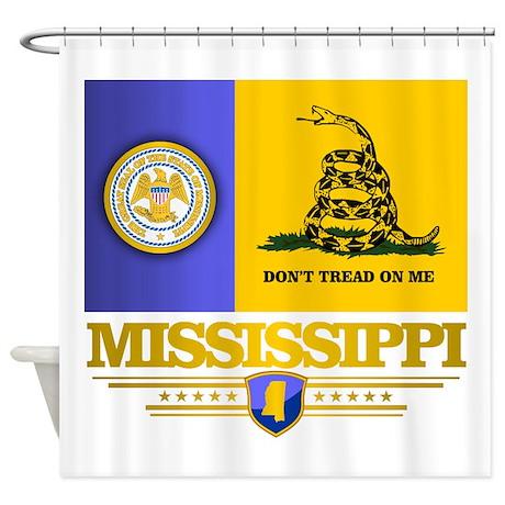 DTOM Mississippi Shower Curtain