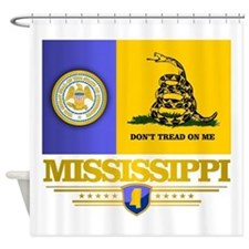 DTOM Mississippi Shower Curtain