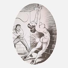 Nights of Horror by Joe Shuster Ornament (Oval)