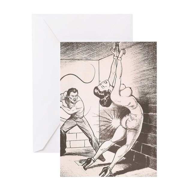 Nights of Horror by Joe Shuster Greeting Cards by SexCessories