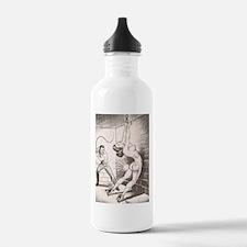 Nights of Horror by Joe Shuster Water Bottle