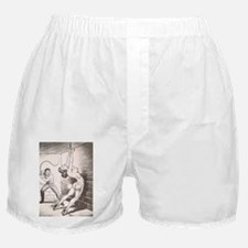 Nights of Horror by Joe Shuster Boxer Shorts