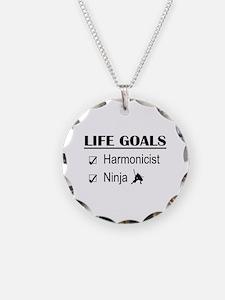 Harmonicist Ninja Life Goals Necklace
