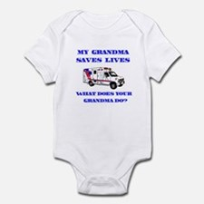 Ambulance Saves Lives-Grandma Infant Bodysuit