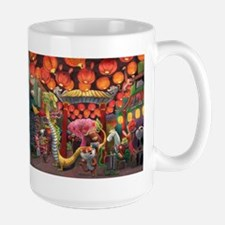 Animals of China Town Mugs