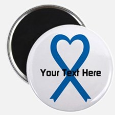 "Personalized Blue Ribbon He 2.25"" Magnet (10 pack)"