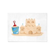 Sand Castle 5'x7'Area Rug