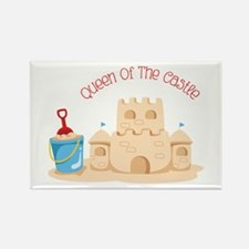 Queen Of The Castle Magnets