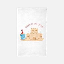 Queen Of The Castle 3'x5' Area Rug