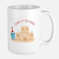Queen Of The Castle Mugs