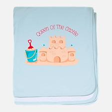 Queen Of The Castle baby blanket