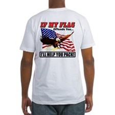 My Flag Offends, Help You Pack - Shirt