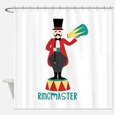Ringmaster Shower Curtain