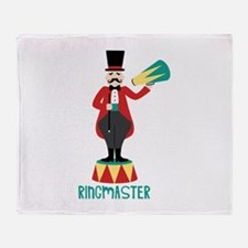 Ringmaster Throw Blanket