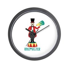 Ringmaster Wall Clock
