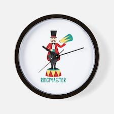 Ringmaster Wall Clock
