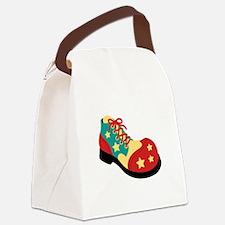 Circus Clown Shoe Canvas Lunch Bag