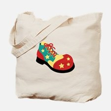 Circus Clown Shoe Tote Bag