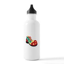 Circus Clown Shoe Water Bottle