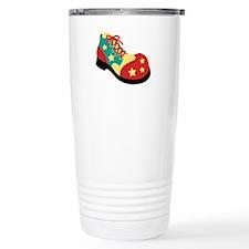 Circus Clown Shoe Travel Mug