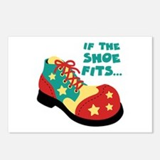 IF THE SHOE FITS... Postcards (Package of 8)
