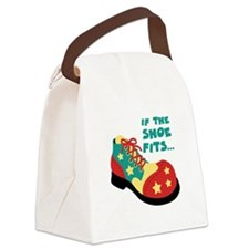 IF THE SHOE FITS... Canvas Lunch Bag