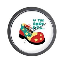 IF THE SHOE FITS... Wall Clock