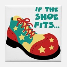 IF THE SHOE FITS... Tile Coaster