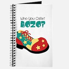 who you callin BOZO? Journal