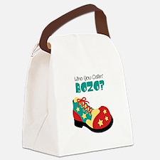 who you callin BOZO? Canvas Lunch Bag