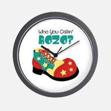 who you callin BOZO? Wall Clock