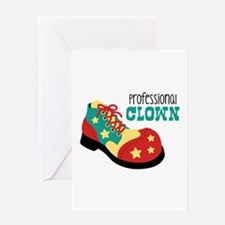 Professional Clown Greeting Cards