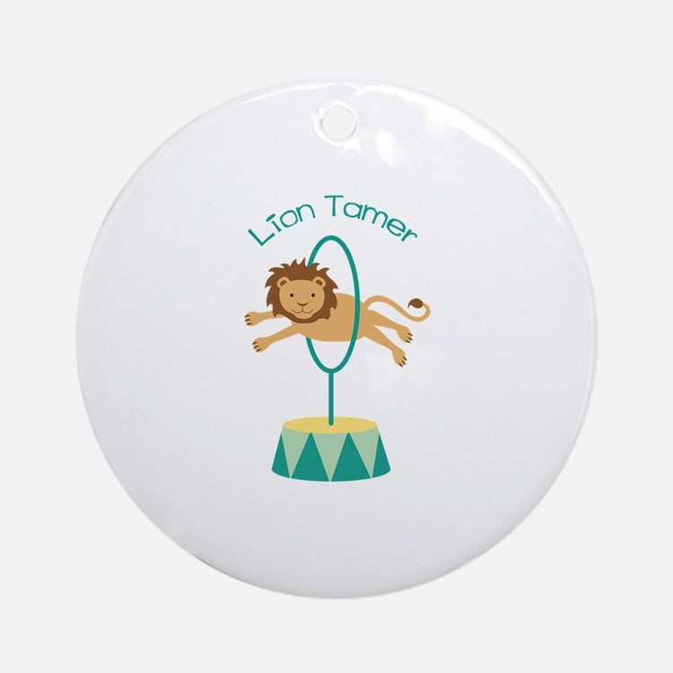 Lion Tamer Ornament (Round)
