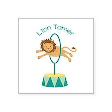 Lion Tamer Sticker
