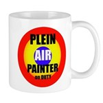 Plein Air Painter on Duty Mug