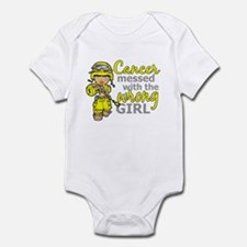 Combat Girl Sarcoma Infant Bodysuit