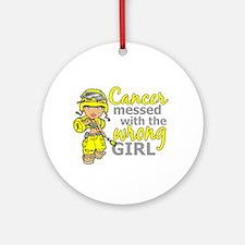 Combat Girl Sarcoma Ornament (Round)