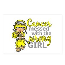 Combat Girl Sarcoma Postcards (Package of 8)