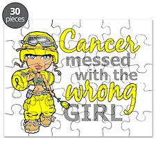 Combat Girl Sarcoma Puzzle
