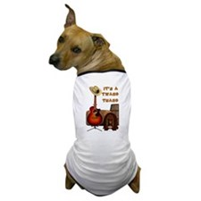 Country Acoustic Guitar Dog T-Shirt