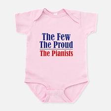 Few Proud Pianists Infant Bodysuit