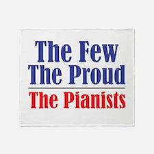 Few Proud Pianists Throw Blanket